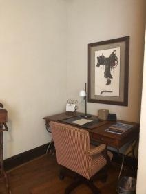 Desk in Presidential Suite