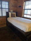 Twin Bed in Coyote Cabin
